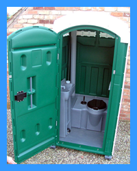 Construction Site Portable Toilet Hire Wales